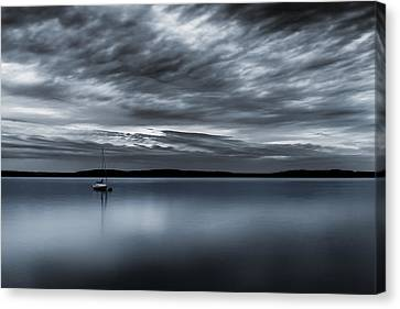 Batten Down The Hatches Canvas Print by Ryan Manuel