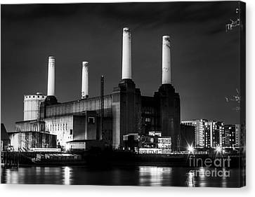 LONDON BATTERSEA POWER STATION ICONIC BOX CANVAS PRINT WALL ART PICTURE