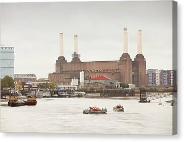 Battersea Power Station Canvas Print by Ashley Cooper
