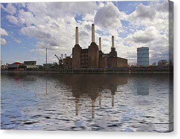 Battersea Power Station London Canvas Print