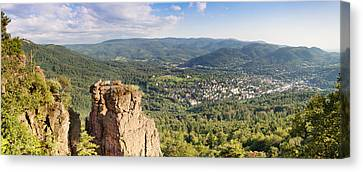 Battert-rock Formations, Baden-baden Canvas Print by Panoramic Images