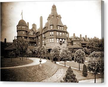 Battery Park Hotel, Asheville, N.c, Jackson Canvas Print by Litz Collection