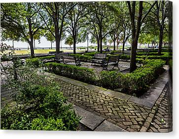 Battery Park Canvas Print