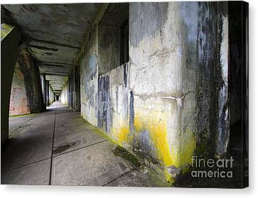 Fort Stevens State Park Canvas Print - Battery Russell Oregon 1 by Bob Christopher