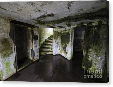 Fort Stevens State Park Canvas Print - Battery Russell Oregon 2 by Bob Christopher