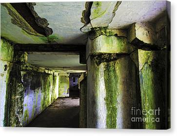 Fort Stevens State Park Canvas Print - Battery Russell Oregon 5 by Bob Christopher