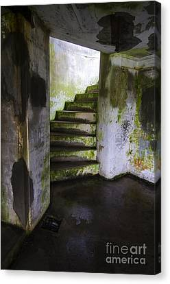 Fort Stevens State Park Canvas Print - Battery Russell Oregon 8 by Bob Christopher