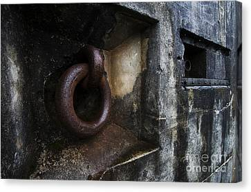 Fort Stevens State Park Canvas Print - Battery Russell Oregon Detail by Bob Christopher