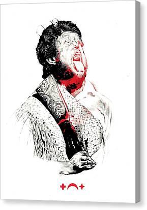 Battle Cry Canvas Print