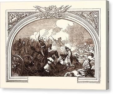 21st Century Canvas Print - Battle Of Ferozeshah, Lord Gough, December 21st by English School
