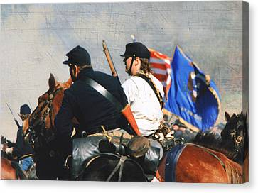 Franklin Tennessee Canvas Print - Battle Of Franklin - 2 by Kae Cheatham
