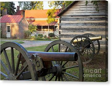 Battle Of Franklin Canvas Print by Brian Jannsen