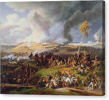 Battle Of Moscow Canvas Print
