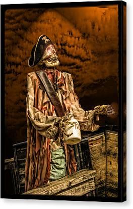 Battle Of The Drunken Pirates Canvas Print by LeeAnn McLaneGoetz McLaneGoetzStudioLLCcom