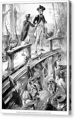Collingwood Canvas Print - Battle Of Trafalgar, 1896 by Granger
