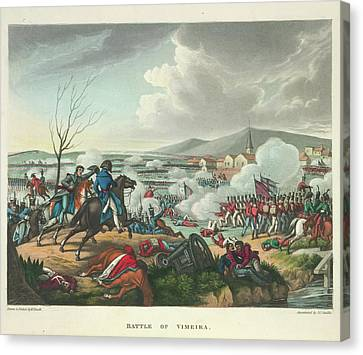 Battle Of Vimeira Canvas Print by British Library