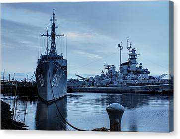Battleship Cove Canvas Print