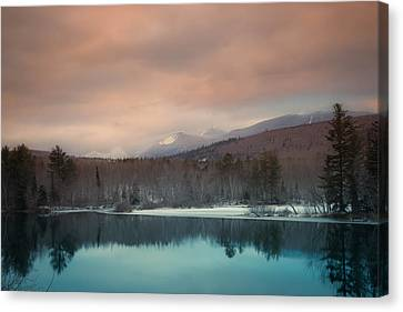 Baxter State Park Maine  Canvas Print by Trace Kittrell