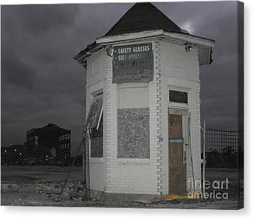 Bay City American Hoist Guard House Canvas Print