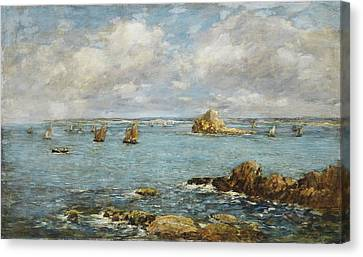 Bay Of Douarnenez Canvas Print