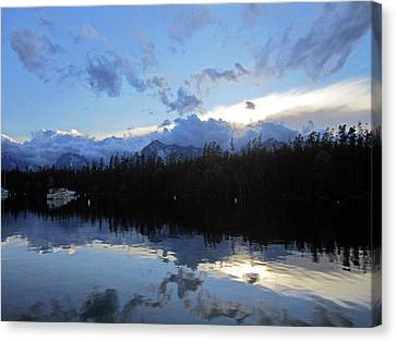 Bay Of Enlightenment Canvas Print by Mike Podhorzer