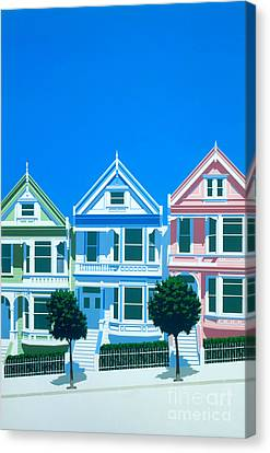 Bay View Canvas Print by Brian James