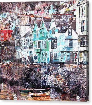 Bayards Cove  Dartmouth Canvas Print by Dawn Scrivener