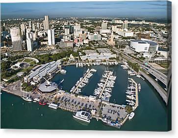 Bayfront Miami Canvas Print