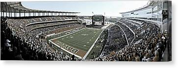 Baylor Gameday No 4 Canvas Print by Stephen Stookey