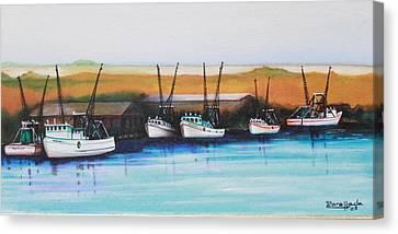 Bayou Canvas Print