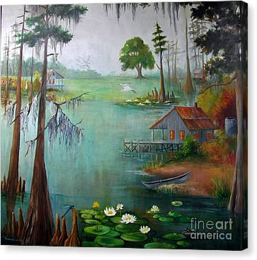 Bayou Living  Canvas Print