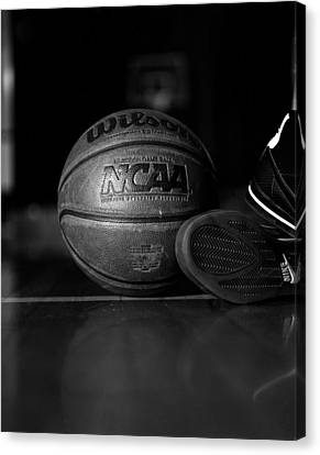 Bball Canvas Print by Molly Picklesimer