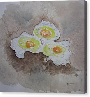 Breakfast Anyone Canvas Print