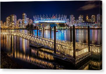 Bc Place Canvas Print by Alexis Birkill