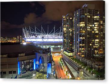 Bc Place  Canvas Print by Kathy King