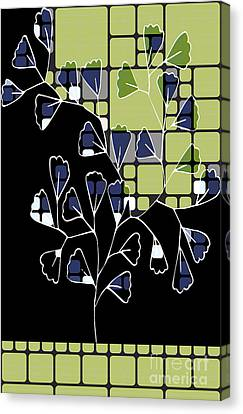 Believe Canvas Print - Be-leaf - Green 02ab03 by Variance Collections