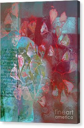 Be-leaf - J76073176a21cc Canvas Print by Variance Collections