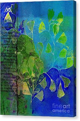 Be-leaf - J76073176b1b Canvas Print by Variance Collections