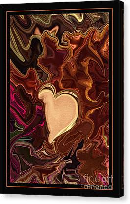 Be Mine By Steven Langston Canvas Print by Steven Lebron Langston