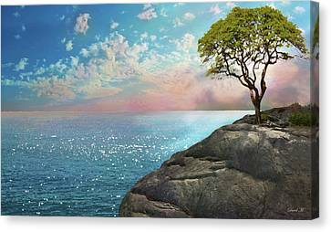 Be One With Me Canvas Print by David M ( Maclean )