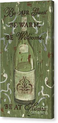 Be Our Guest Canvas Print by Debbie DeWitt