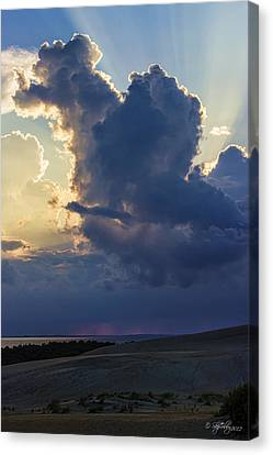 Canvas Print featuring the photograph Be Still And Know That I Am God by Skip Tribby