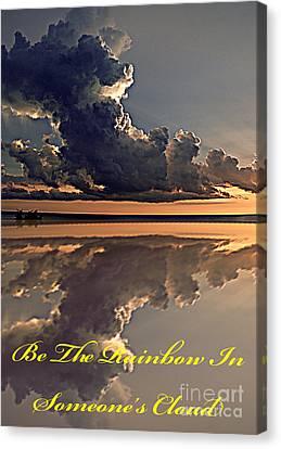 Be The Rainbow Canvas Print