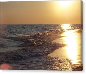 Beach #17 Canvas Print