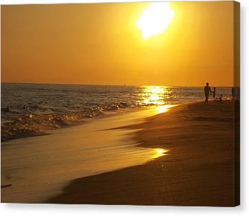 Beach #18 Canvas Print