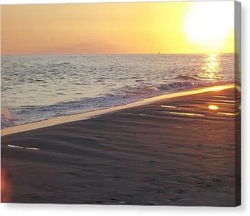 Beach #5 Canvas Print