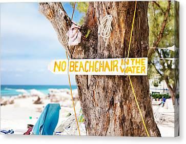 Beach At Rum Point Canvas Print by Jo Ann Snover