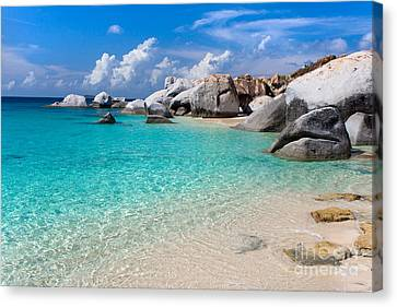 Beach Beauty Photos Canvas Print by Boon Mee