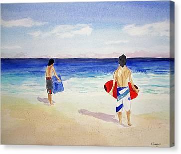 Beach Boys Australia Canvas Print