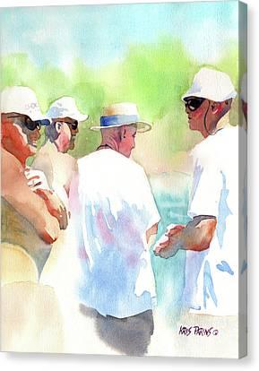 Beach Boys Canvas Print by Kris Parins